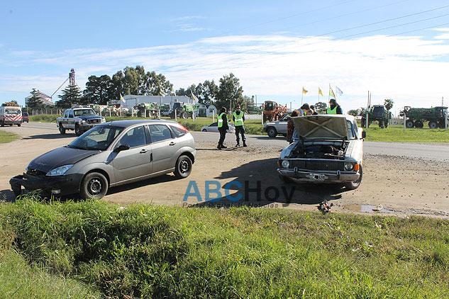 Violento choque en Ruta 226 y Lavalle