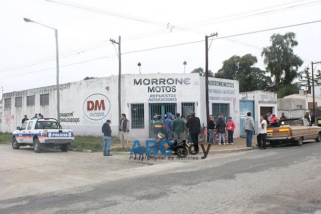Se suicid� el propietario de un taller de motos