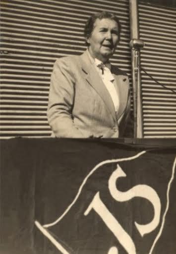 Unidad Socialista para la Victoria Tandil a 28 a�os de la muerte de Alicia Moreau de Justo
