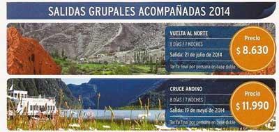 Argentina, Rusia, Norteam�rica. Pr�ximas salidas grupales de Interturis.