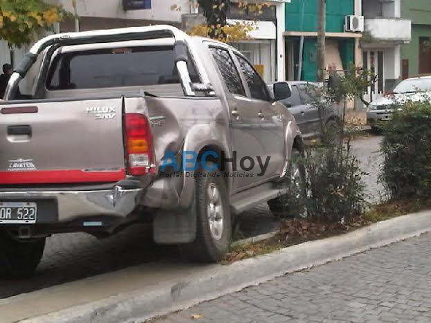 Triple choque en Avenida Col�n y Montevideo
