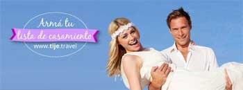Arm� tu lista de casamiento en TIJE Travel y obten� importantes beneficios
