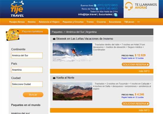TIJE Travel presenta paquetes especiales para vacaciones de invierno