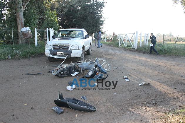 Hombre herido de gravedad al ser embestido por una camioneta
