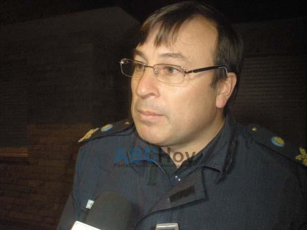 Comisario Jorge Gim�nez: �Estamos abocados y preocupados�