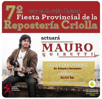 7� Fiesta Provincial de la Reposter�a Criolla