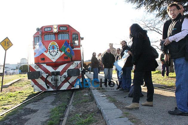 Gardey tiene Tren Tur�stico