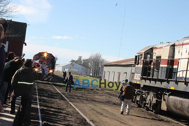 Despu�s de 40 a�os, el tren volvi� a Gardey
