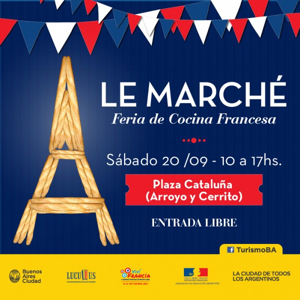 Le March�, feria de cocina francesa en Buenos Aires