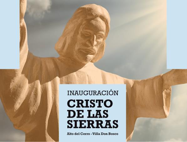 El 12 de octubre se inaugurar� el Cristo de las Sierras
