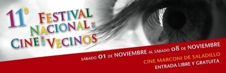 Se realiza el 11� Festival Nacional de Cine con Vecinos