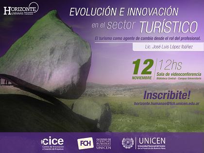 Charla abierta: Evoluci�n e innovaci�n en el sector tur�stico