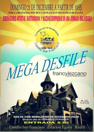 Se realizar� un Mega Desfile en el Castillo de Ega�a