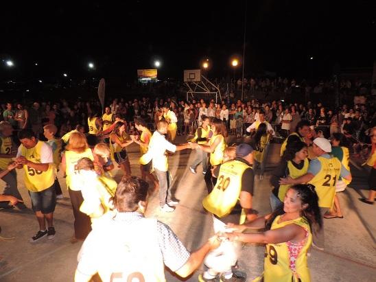 La Movediza fue una fiesta en una presentaci�n del ciclo �Aguante la Cumbia�