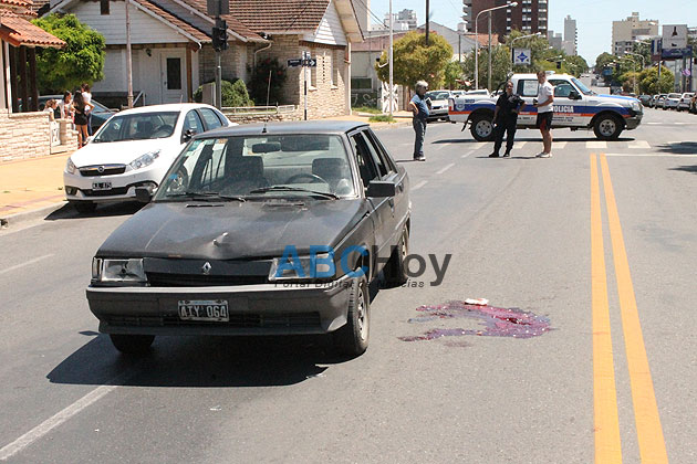 Muri� la mujer atropellada en avenida Santamarina