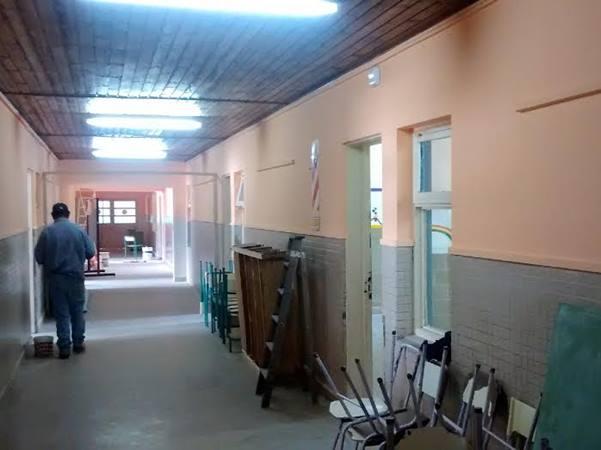 Avanzan las obras en la Escuela Primaria N� 47
