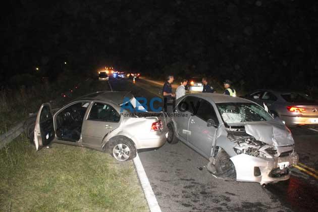 Dos fot�grafos del Gobernador Scioli se accidentaron en inmediaciones de Tandil