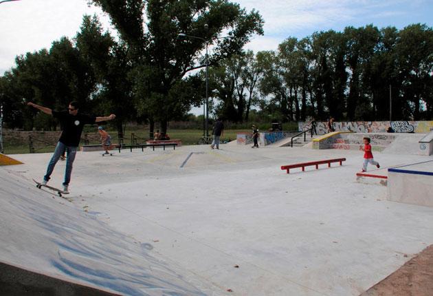 Se inaugura hoy la segunda etapa del Skatepark