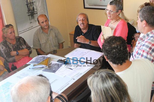 Adjudicatarios del Smata se reunieron con funcionarios: compromiso por la apertura de calles
