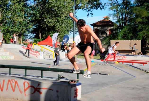Se inaugur� la segunda etapa del skatepark en Parque Norte