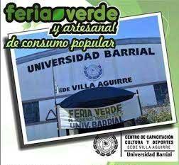 Nueva Feria Verde en la Universidad Barrial