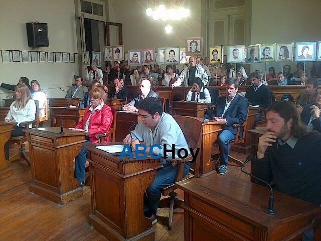 Se realiz� la sesi�n especial del Concejo Deliberante por el D�a de la Memoria