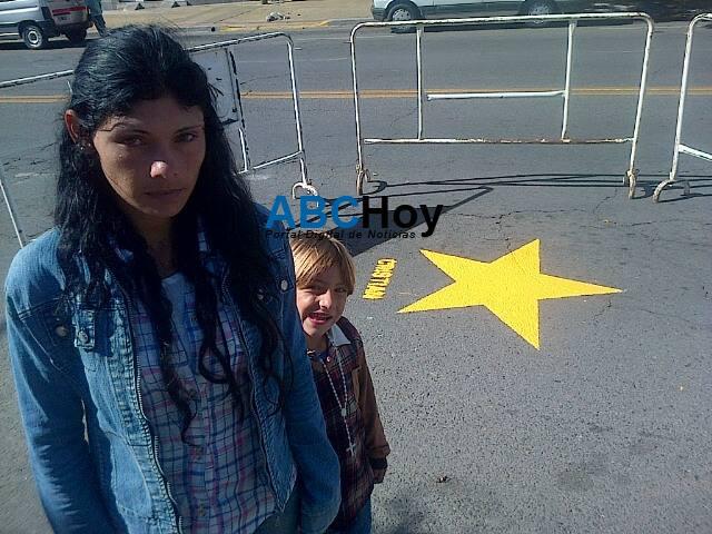 Pintaron otra estrella amarilla por joven que falleci� en accidente de tr�nsito