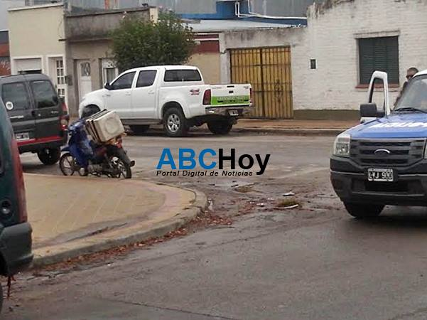 Joven herida tras choque en Las Heras y San Lorenzo