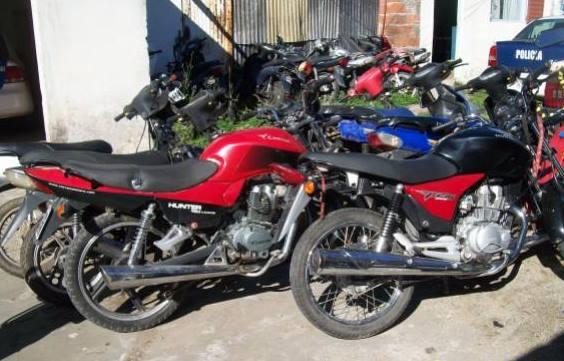 Recuperan una importante cantidad de motos con pedido de secuestro