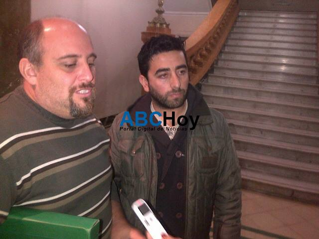 Taxistas se reunieron con Gast�n Morando y Mery Fuente