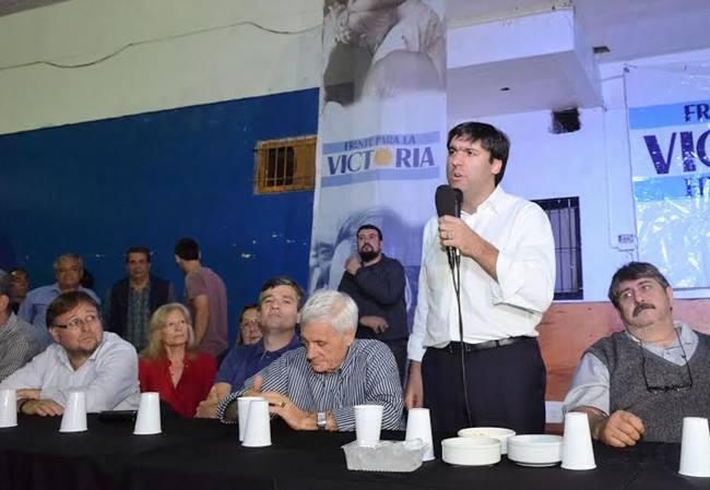 Fuerte apoyo de los principales sindicatos a la candidatura de Diego Bossio a gobernador