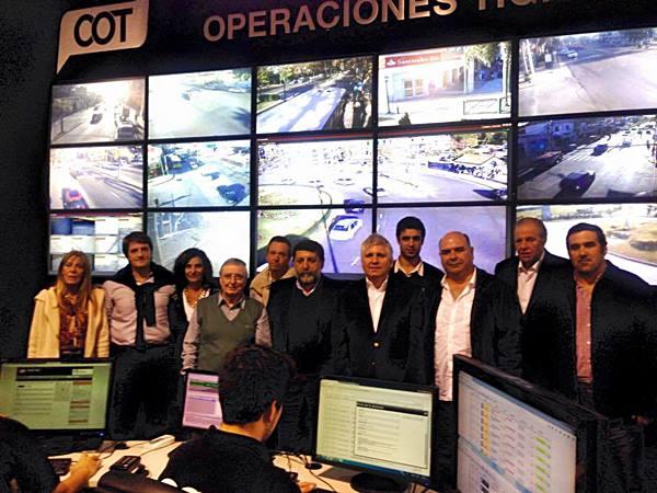 Miembros del Foro de Seguridad recorrieron el Centro de Operaciones de Tigre