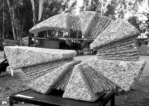 Tandil: Arte picapedrero