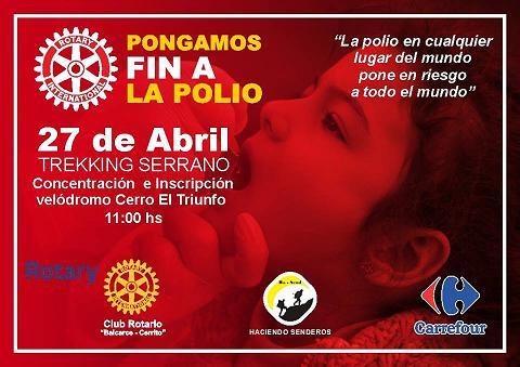 Trekking solidario por la erradicaci�n de la polio