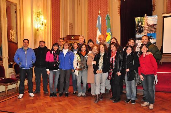 Exitosa jornada organizada por la Asociaci�n de Gu�as de Tandil