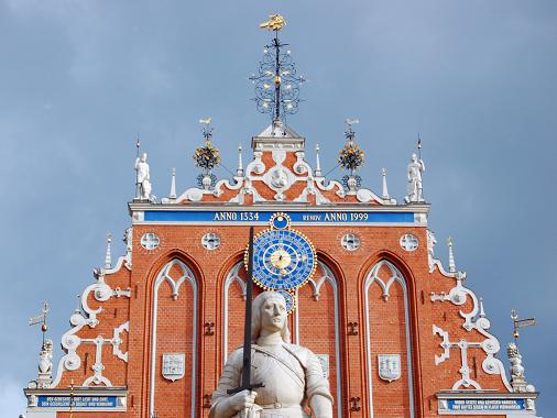 El casco antiguo de Riga, ochocientos a�os de historia