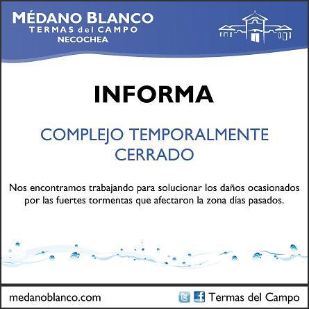 Termas del Campo permanece cerrado por reformas