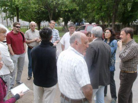 Los concejales se reunieron con los vecinos