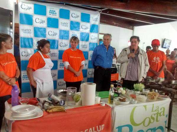 Una multitud cocin� con Elba
