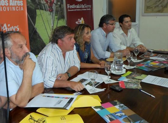 Tandil present� su calendario tur�stico en La Feliz