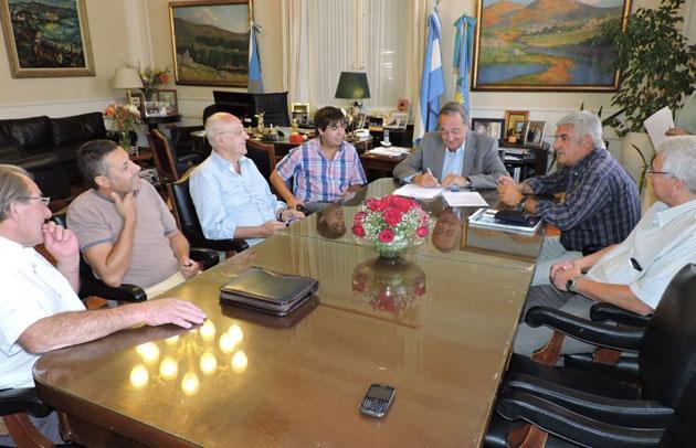 El municipio entreg� un subsidio a la Sociedad de Fomento Uni�n y Progreso