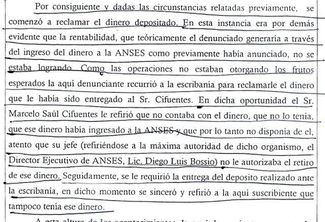 Della Rocca contra Cifuentes