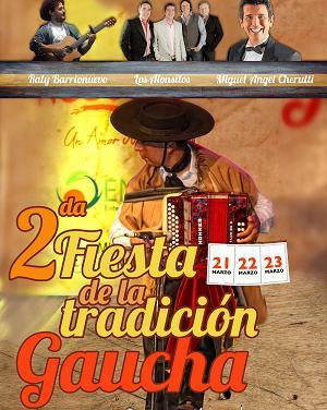 Raly Barrionuevo, Los Alonsitos y Cherutti en la Fiesta de la Tradici�n Gaucha