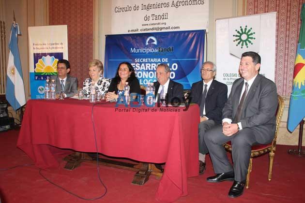 Lunghi particip� de la apertura del V Congreso Panamericano de Ingenieros Agr�nomos