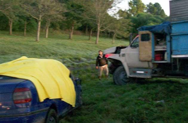Cinco muertos en un accidente fatal en la provincia de Santa Fe