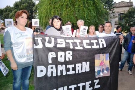 Pidieron Justicia por Dami�n Ben�tez