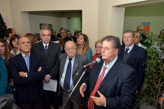 Collia inaugur� una sala de internaci�n en el Hospital Municipal de Rauch