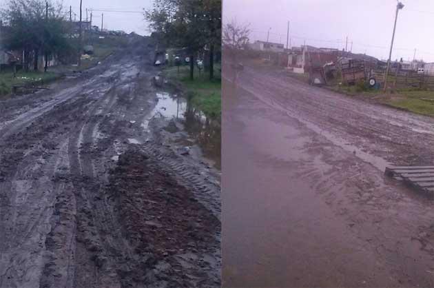 La lluvia trajo problemas a vecinos de Formosa al 2100