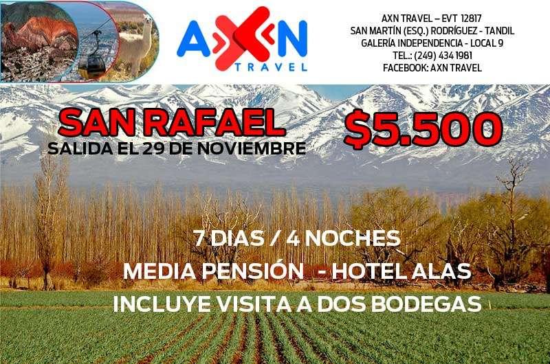 ca0a5efb1 Escapadas en noviembre con Axn Travel: San Rafael y La Falda