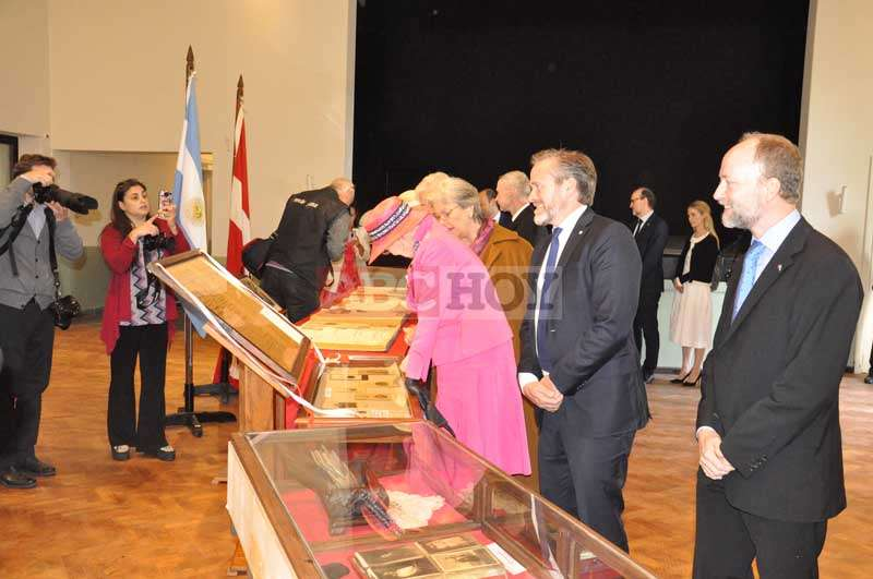 2b02d5b0f La Reina Margarita II de Dinamarca visitó Tandil